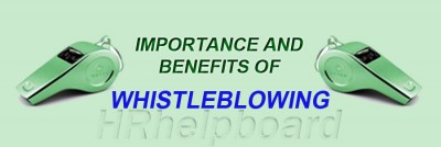 Whistleblower Act -Definition protection and Rights