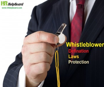 whistleblower act definition protection and rights