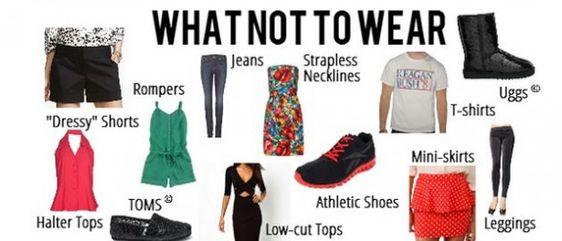whar not to wear in office - hrhelpboard