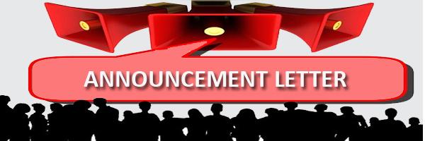 announcement letter - HR helpboard