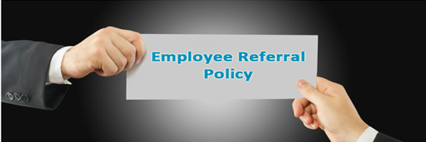 Employee referral policy