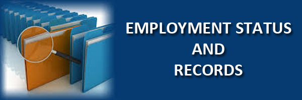 employment status and records