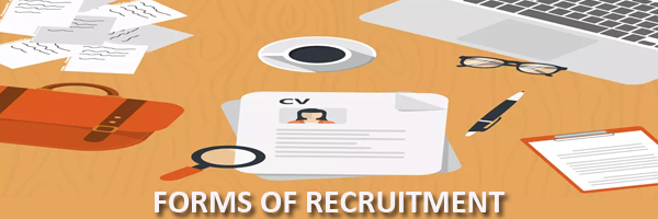 recruitment forms