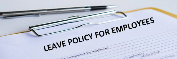 Leave of absence policy for employees, find Sample format