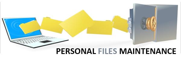 personal files maintenance