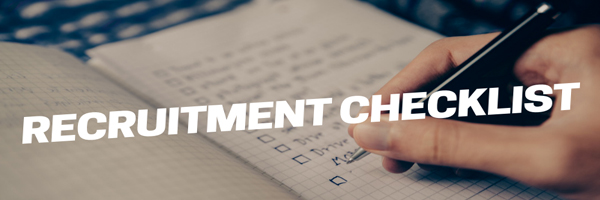Recruitment Checklist - HR Helpboard