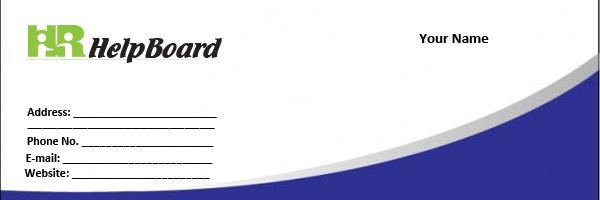 visiting card policy