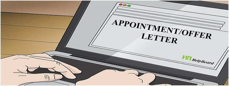 Appointment Letter Format In Word Template In Doc Pdf For Sample