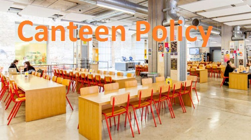 canteen policy-hrhelpboard