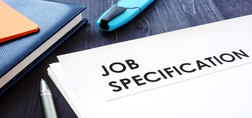 Job Specification - HR helpboard