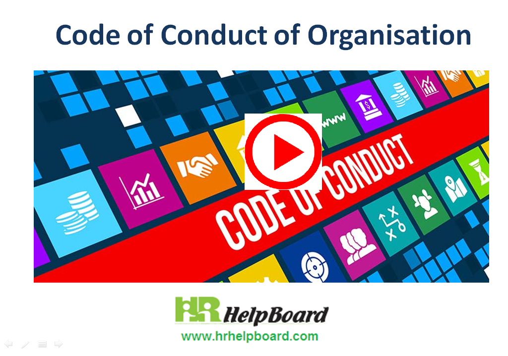 Code of conduct   2   policy   hrhelpboard