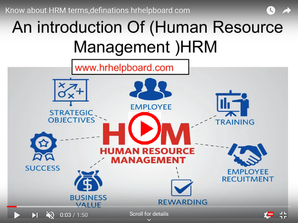 what is Human Resource