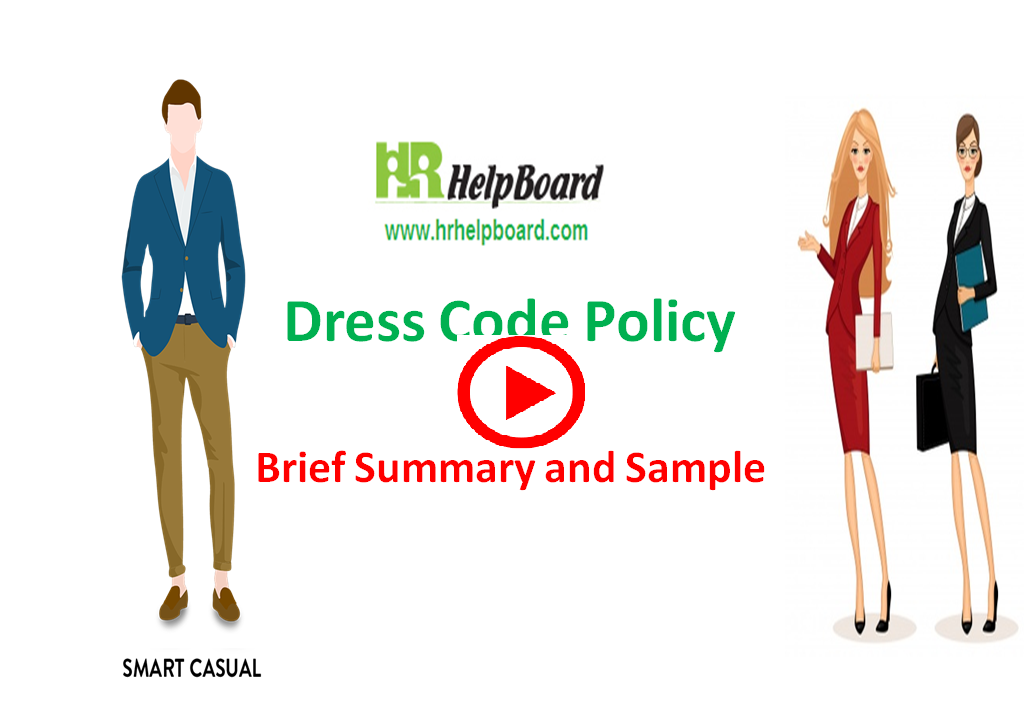 Dress code policy  of company -hrhelpboard