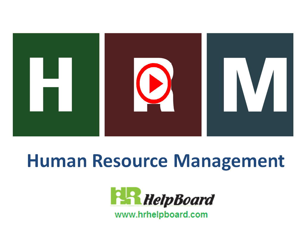 HRM (human Resource Management) - Hrhelpboard