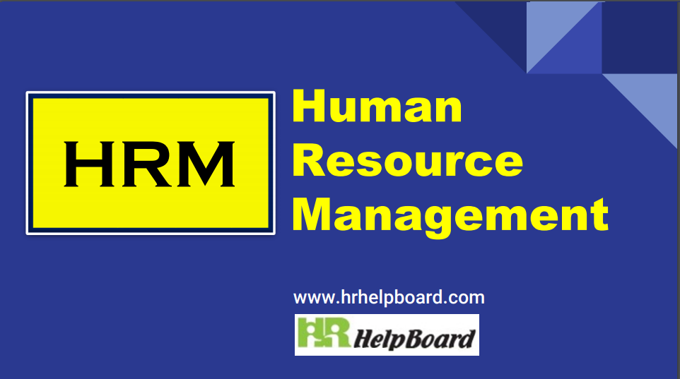 What is Human Resource Management