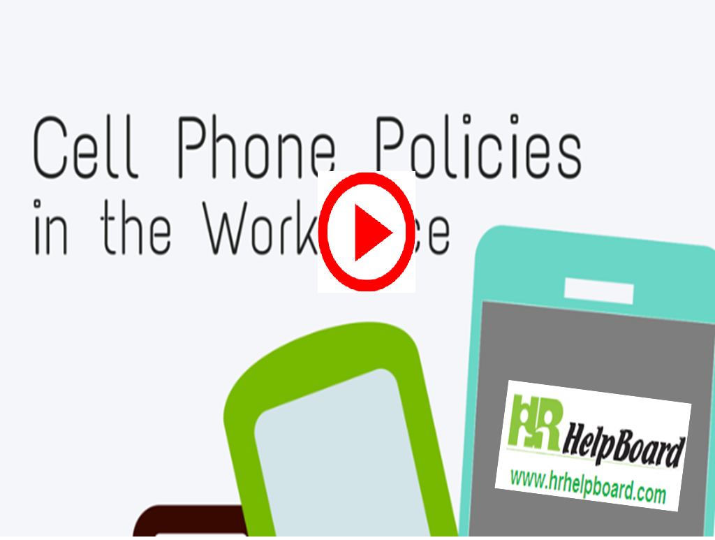 Cell phone  Policy of Organisation - hrhelpboard